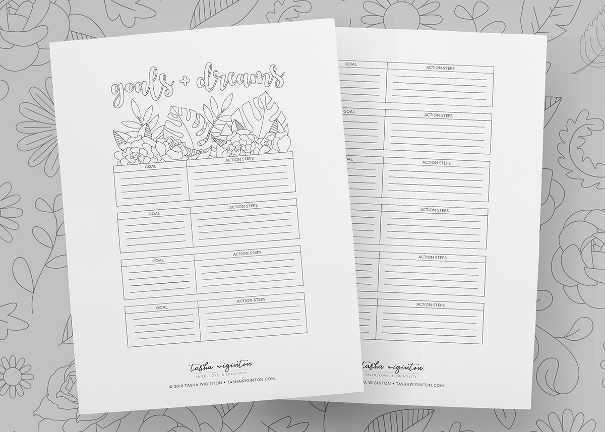 Taking your planning (and life) to the next level is easier when you have a grasp on your goals. Use this free goals and dreams worksheet to get started.