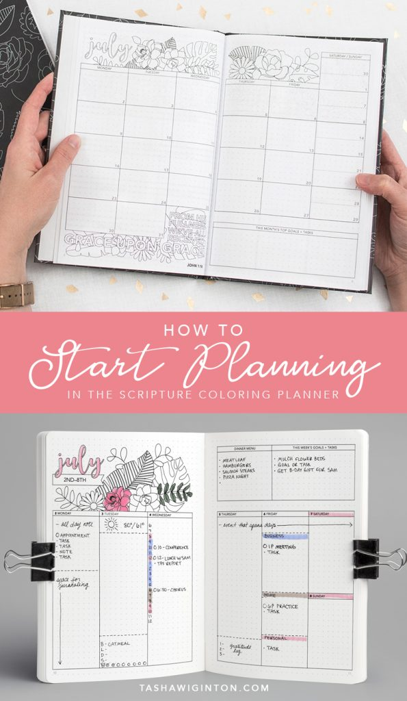 How to start planning & ideas for weekly spread #bujo #bulletjournal #planner #planning